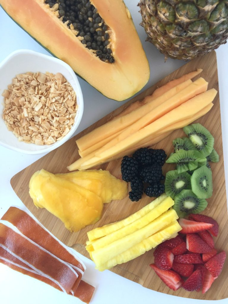 Fruit Sushi Ingredients