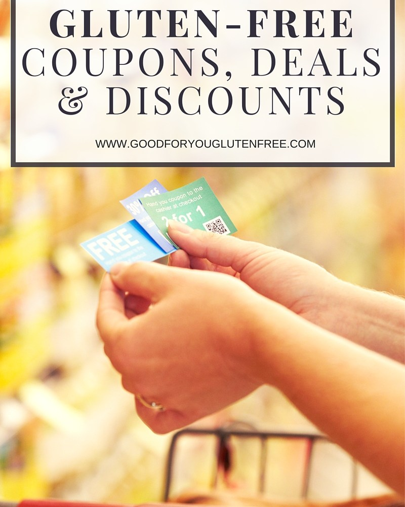 Where to Find Gluten-Free Coupons and Deals