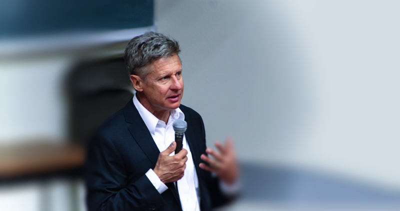 Libertarian Presidential Candidate, Gary Johnson, Has Celiac Disease and Follows Gluten-Free Diet
