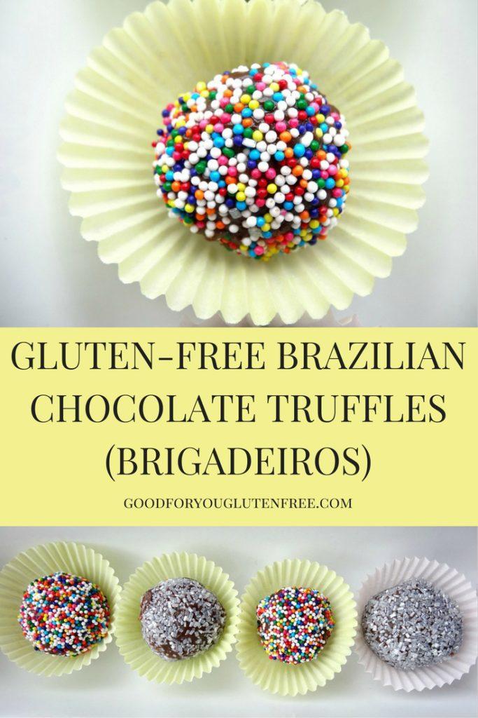 Gluten-Free Brazilian Chocolate Truffles (Brigadeiros)