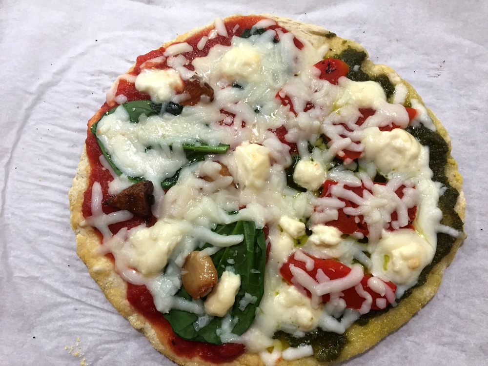 Gluten-Free Pizza Dough 1
