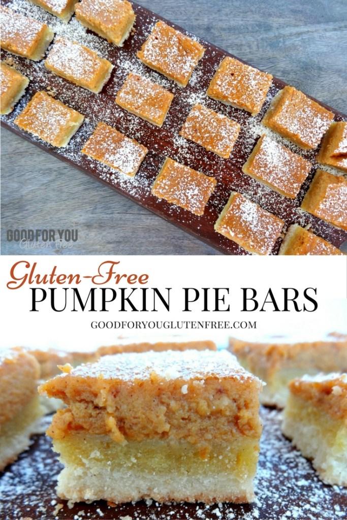 Gluten-Free Pumpkin Pie Bars Recipes Graphic