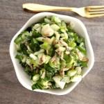 Gluten-Free Bok Choy Seed Salad