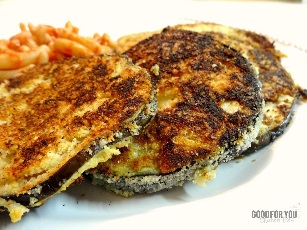 Gluten-Free Parmesan Almond Flour Eggplant