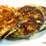 Gluten-Free Almond Flour & Parmesan Fried Eggplant