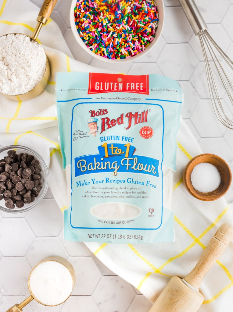 Bob's Red Mill 1:1 gluten-free flour blend pretty picture