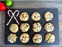 Gluten-Free Chocolate Chip Cookies with Peppermint Extract and Candy Canes 1