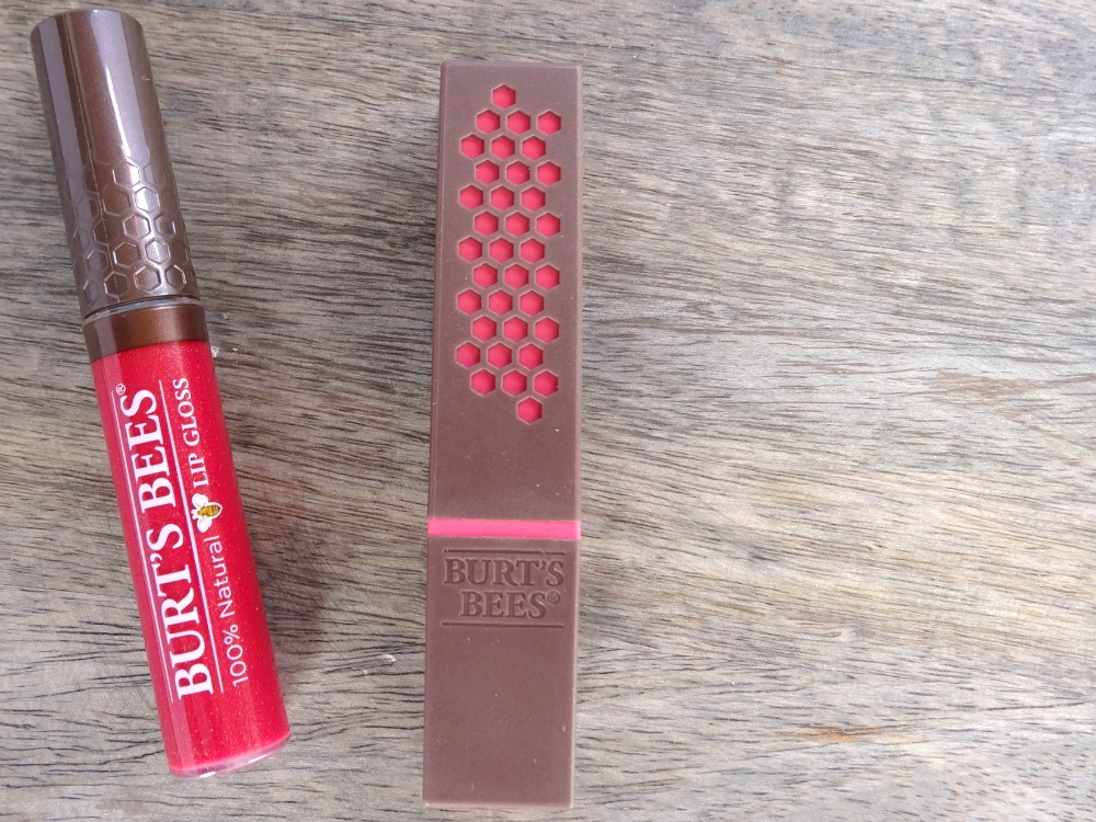 Burts Bees lip products