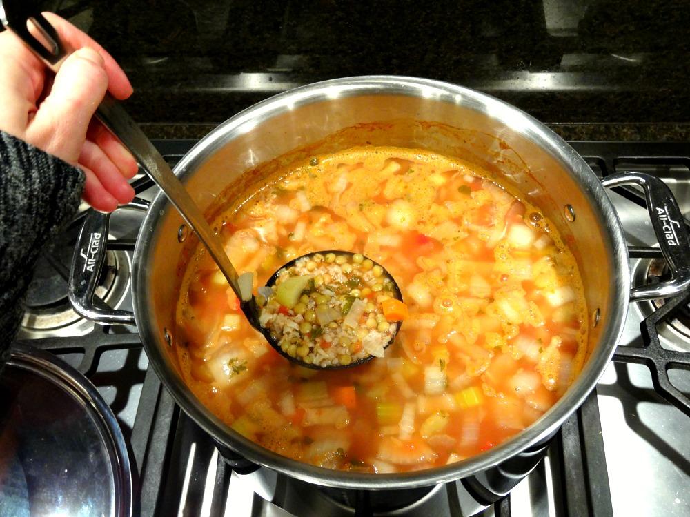 Easy Breezy Gluten-Free Lentil Soup 1