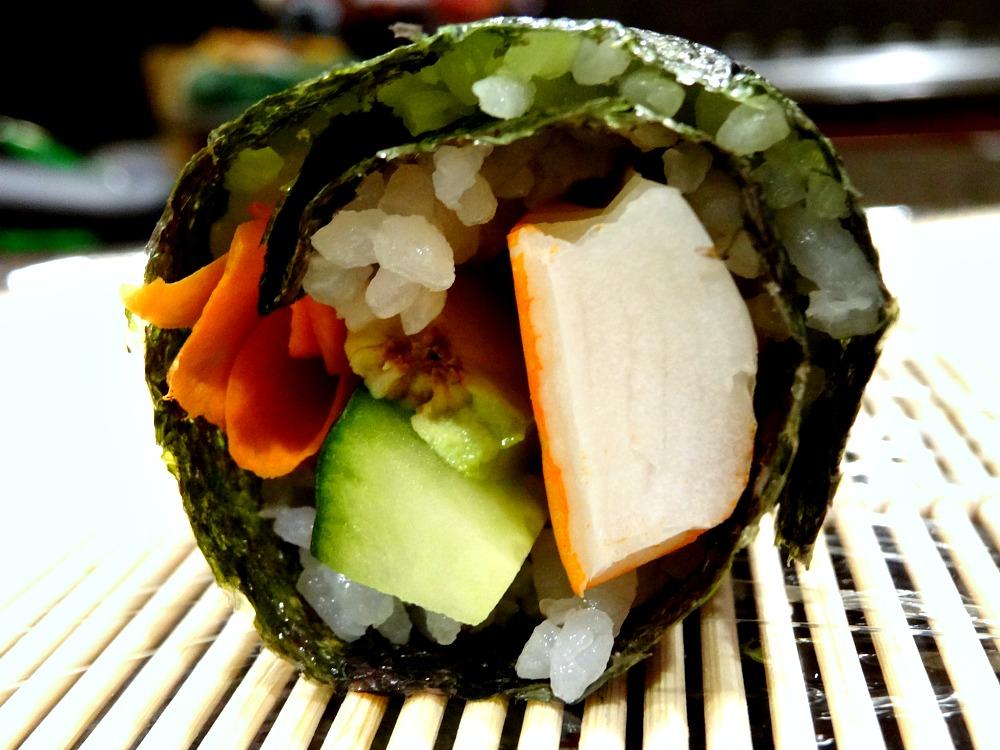 Final sushi roll