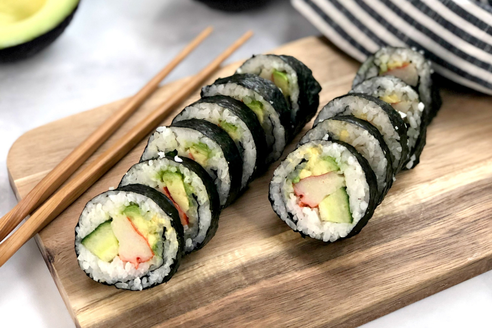 How to Make Gluten-Free Sushi Rolls