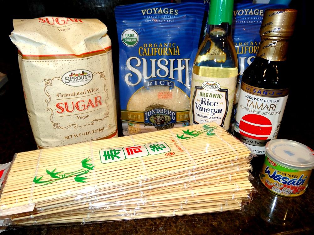 Sushi Class Supplies