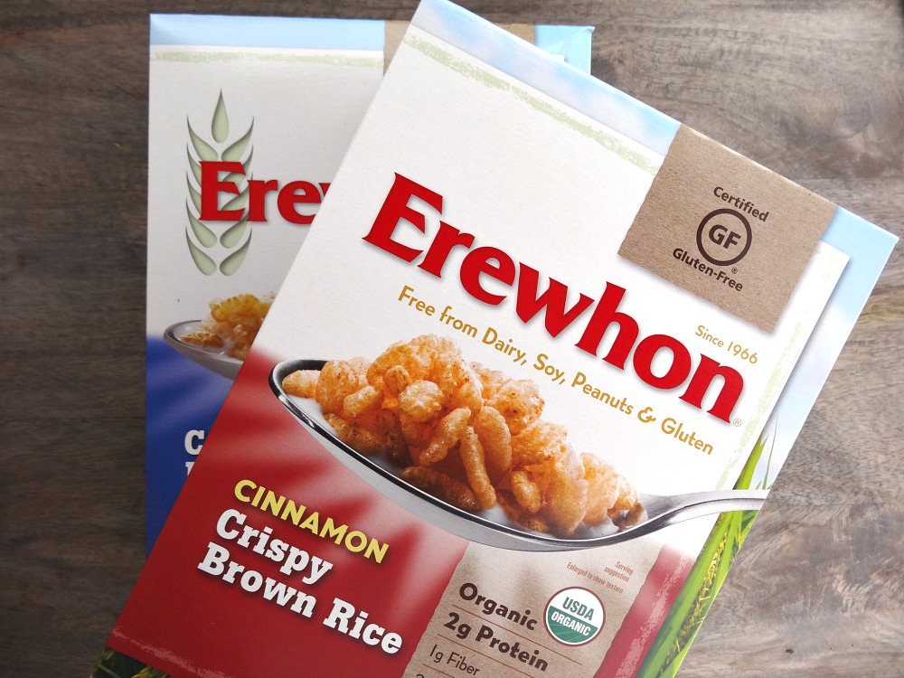 Erewhon brown rice cereal