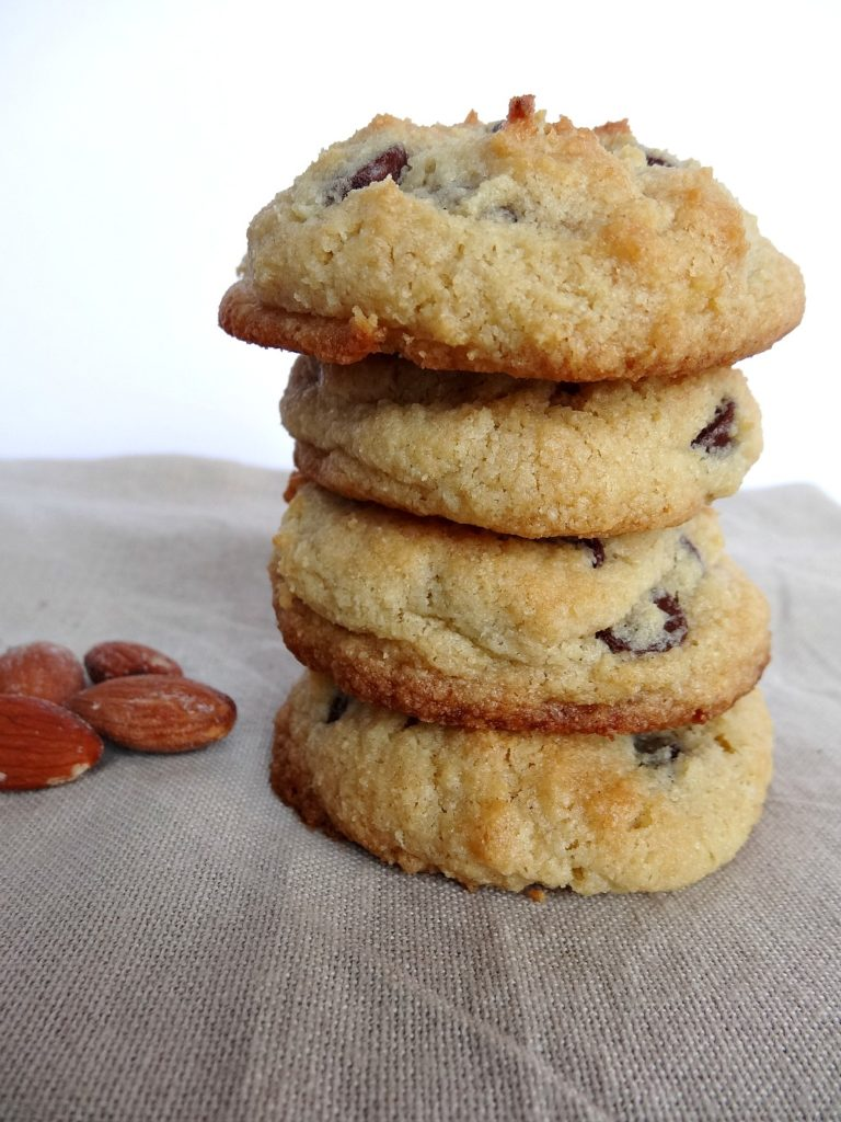 Gluten-Free Almond Flour Chocolate Chip Cookie Sweetened with Monk Fruit 3