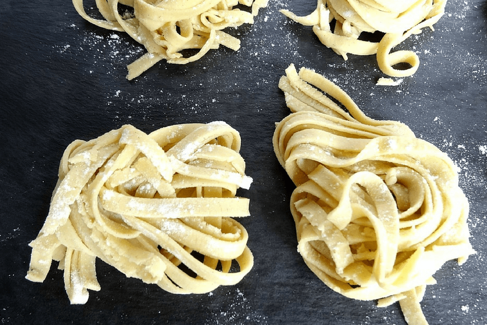 Gluten-Free Homemade pasta header