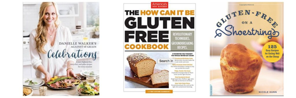 Mother's Day Gift Ideas: Gluten-free cookbooks
