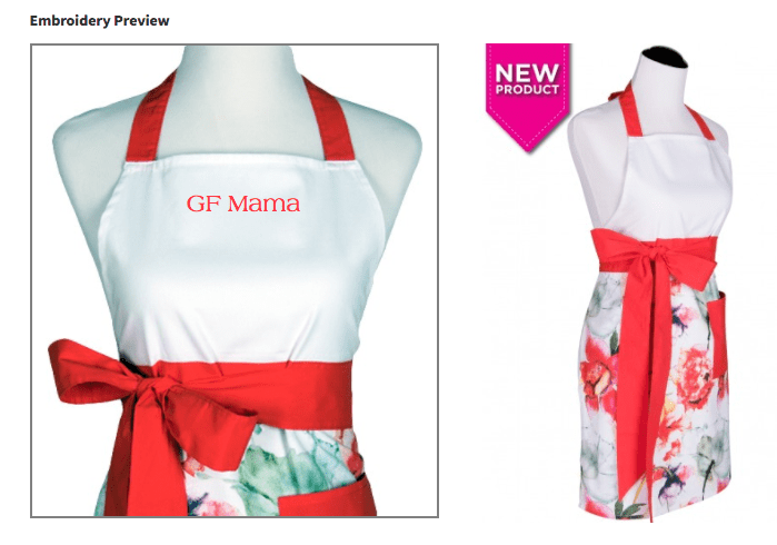 personalized aprons by flirty aprons