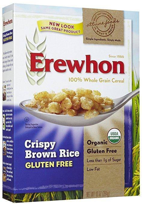 Erewhon Cereal - Organic - Crispy Brown Rice - Gluten Free