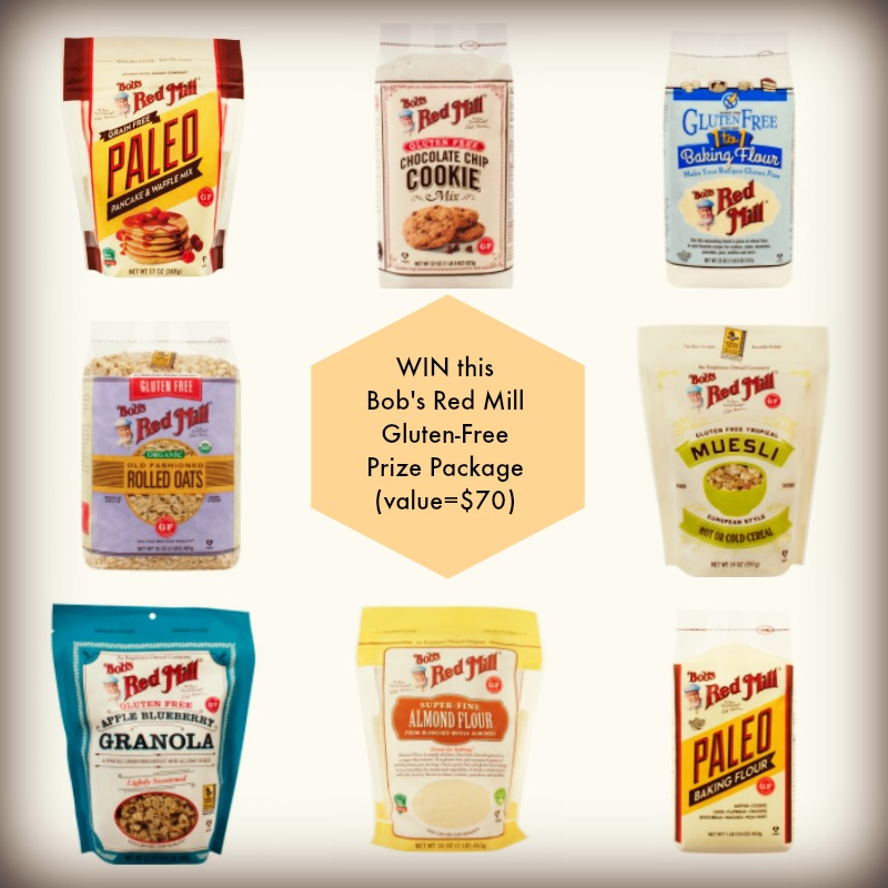 Bob's Prize Package including paleo pancakes mix