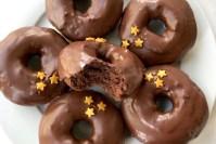 Gluten free chocolate donut recipe header