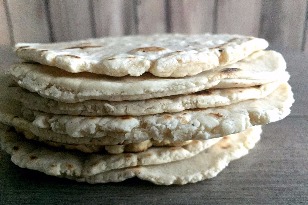 Cassava Flour Tortillas Header