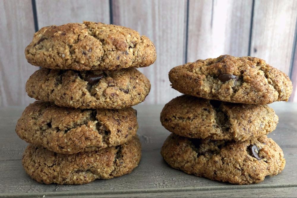 Gluten-Free Hazelnut Flour Chocolate Chip Cookies - header