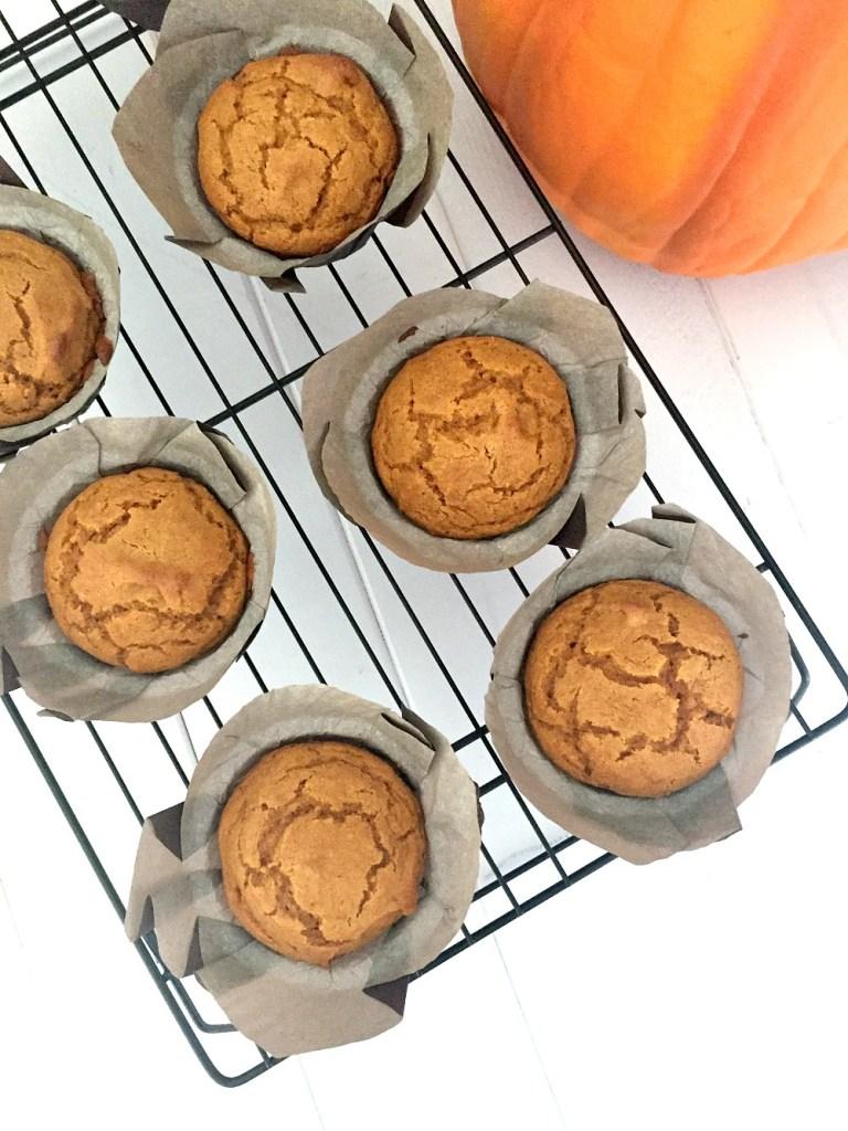 Gluten-Free Pumpkin Muffins 1