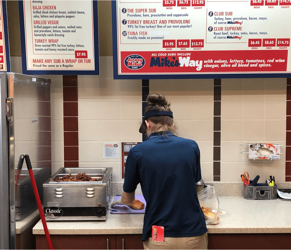 Jersey Mike's Gluten-Free Menu and Protocols