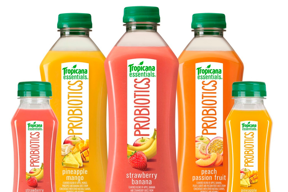 Tropicana Probiotic Juices are full of sugar