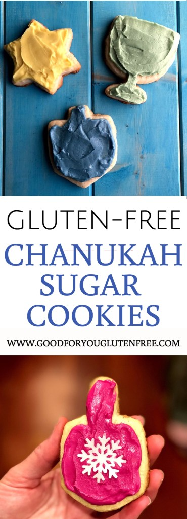 Gluten-Free Chanukah Sugar Cookies - Good For You Gluten-Free