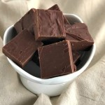 Gluten-Free Chocolate Fudge -header