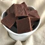 Gluten-Free Chocolate Fudge -header