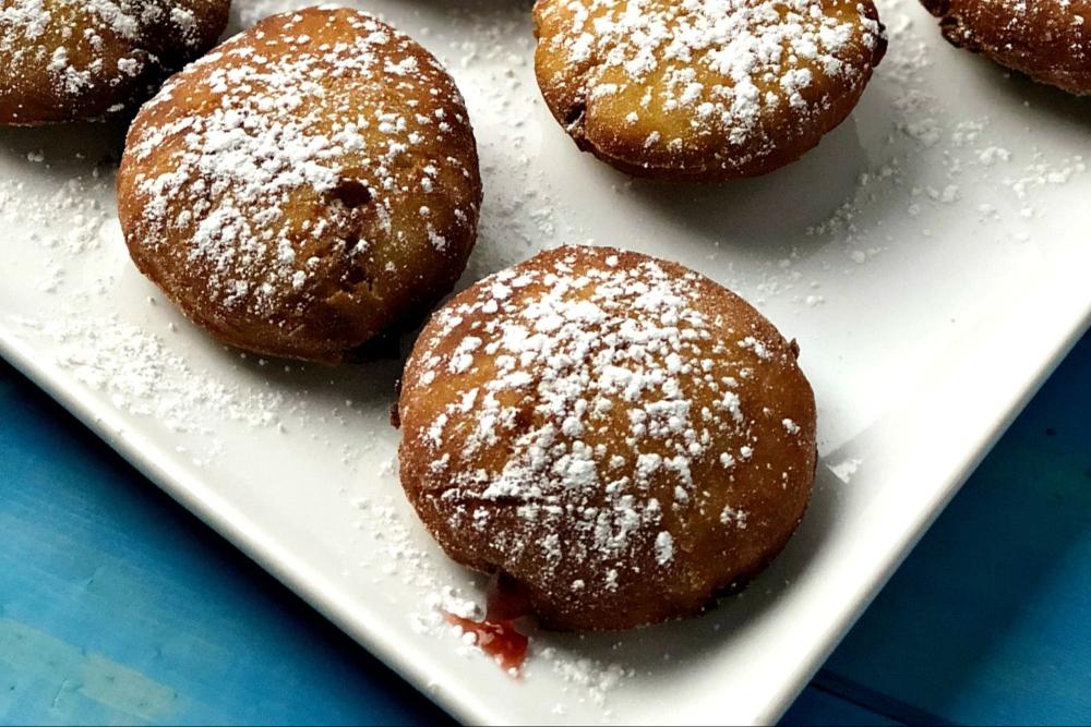 Gluten-Free Jelly Donuts Recipe - header