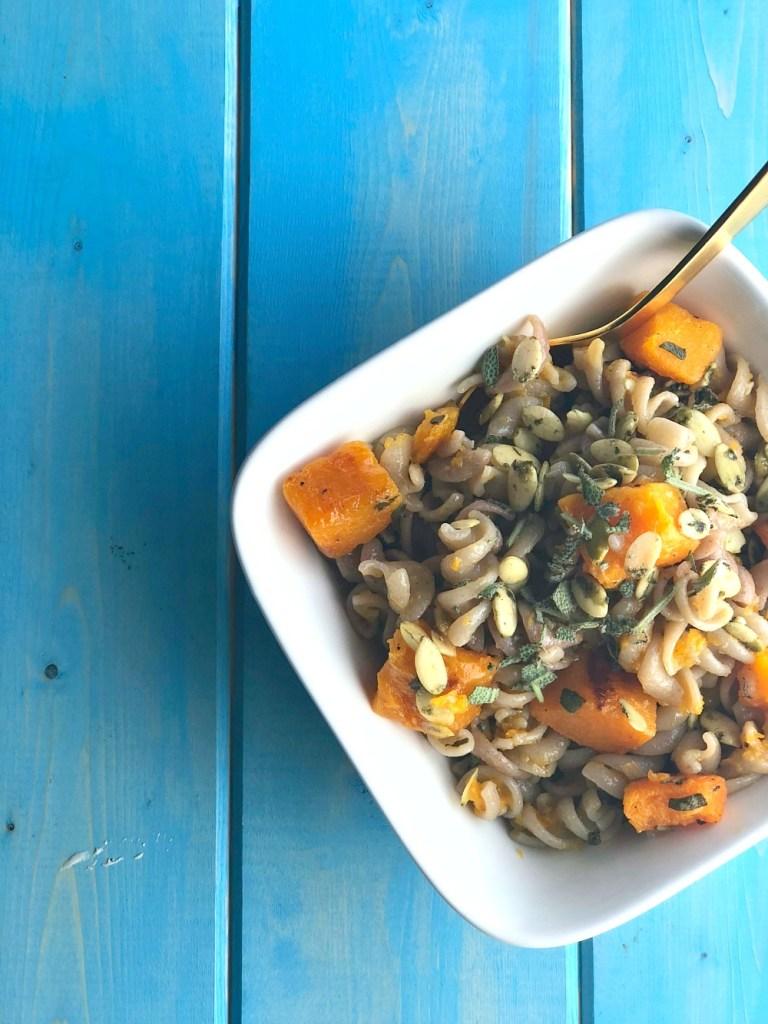 GoGoQuinoa Butternut Squash and Sage Pasta 1