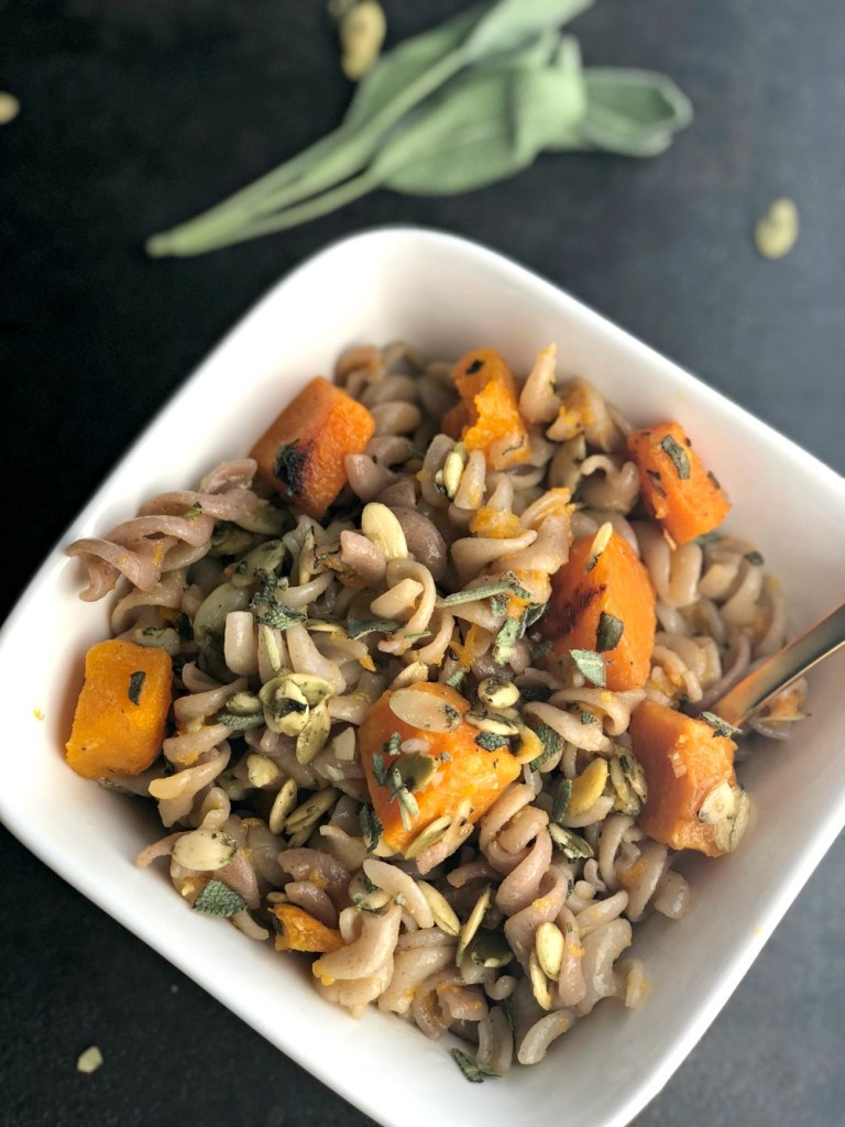 GoGoQuinoa Roasted Butternut Squash and Sage Pasta17