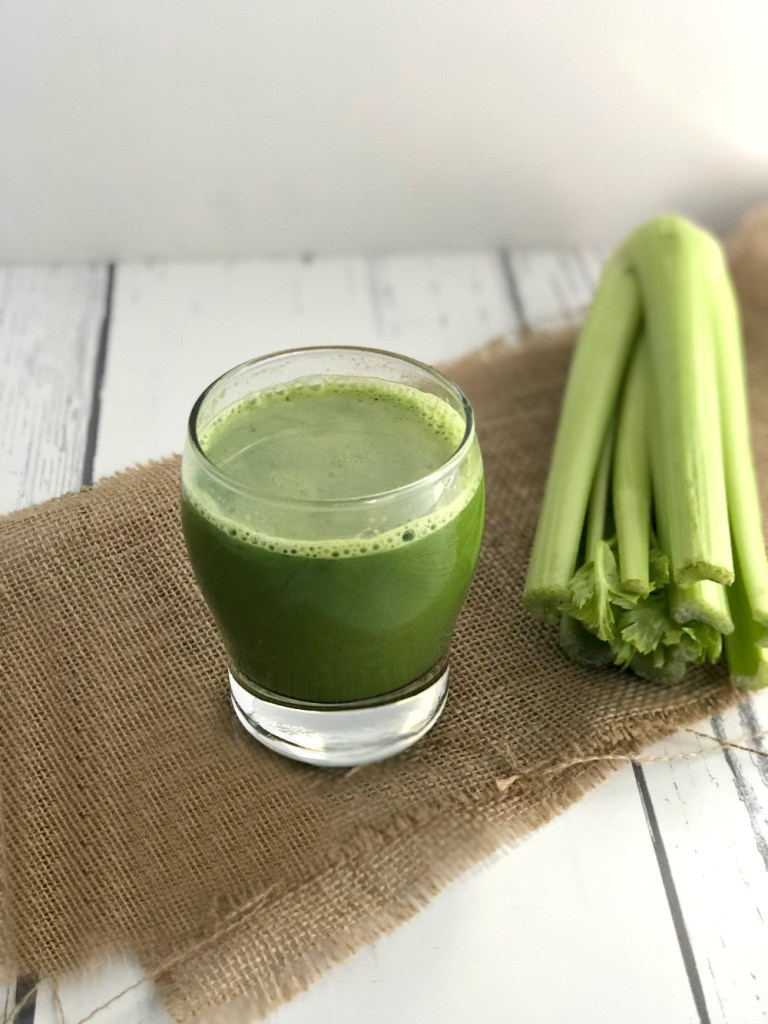 Celebrate Celery Green Juice Recipe