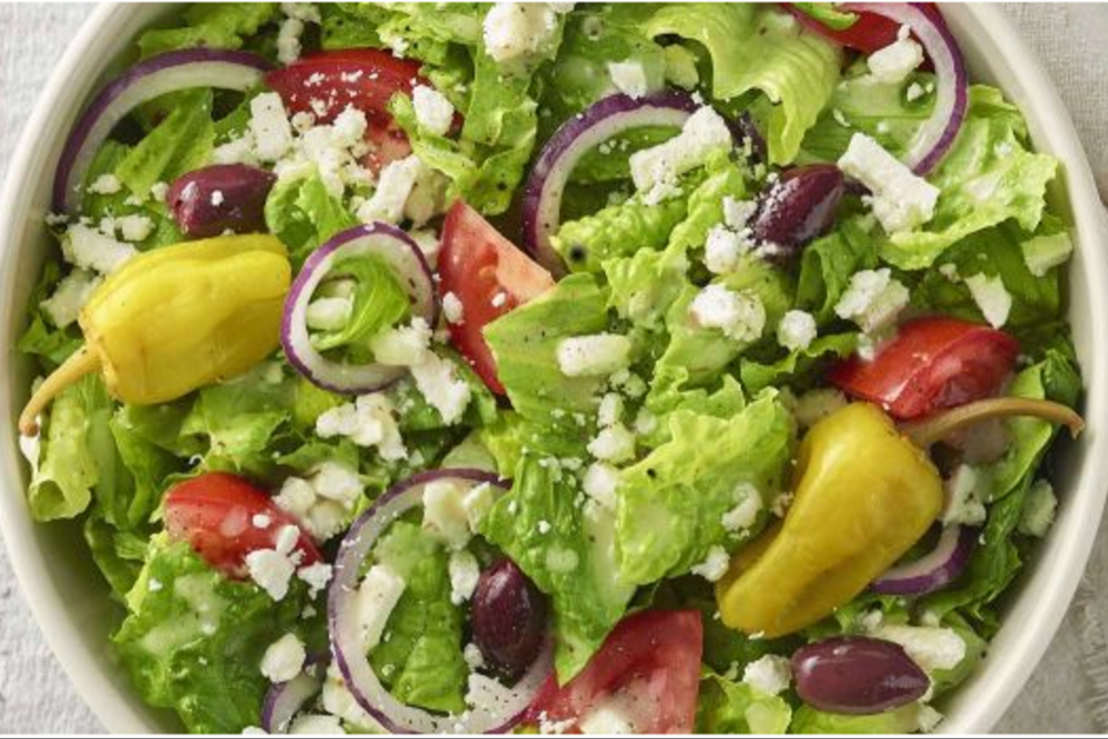 Panera gluten-free greek salad
