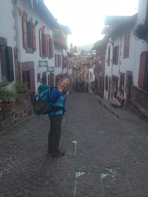 Cynthia Kupper_In French Village Starting Camino