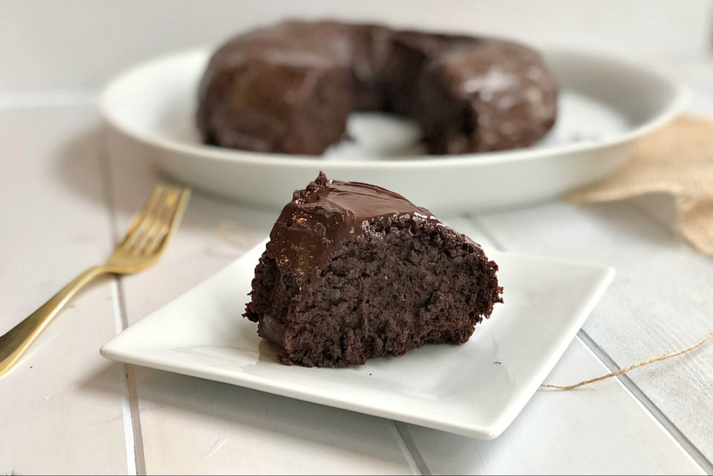 Gluten-Free Chocolate Quinoa Cake header