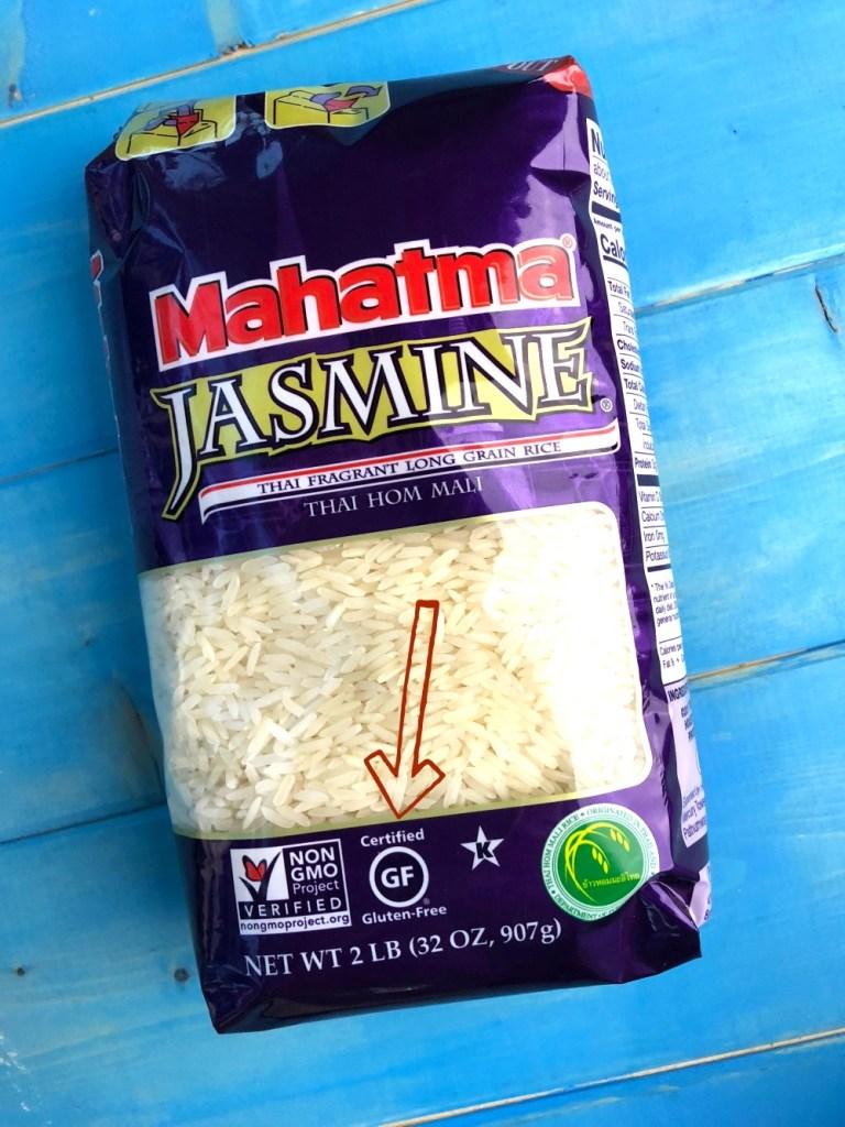 Mahatma Rice certified gluten-free rice