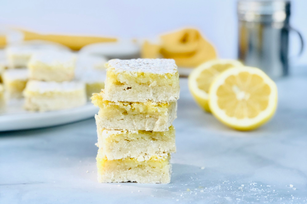 Yummy Gluten-Free Lemon Bars