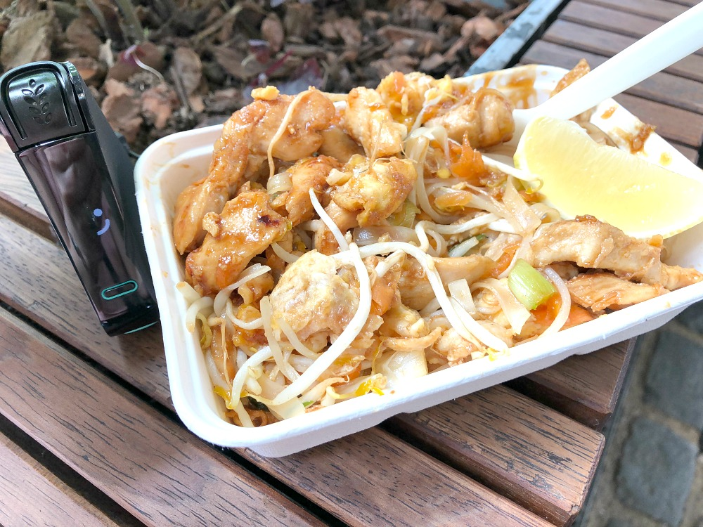 Gluten-Free Chicken Pad Thai at Borough Market