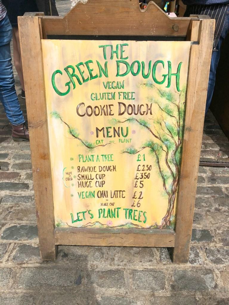 The Green Dough at Camden Market 1