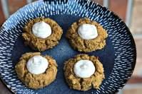 Gluten-Free Pumpkin Thumbprint cookies header