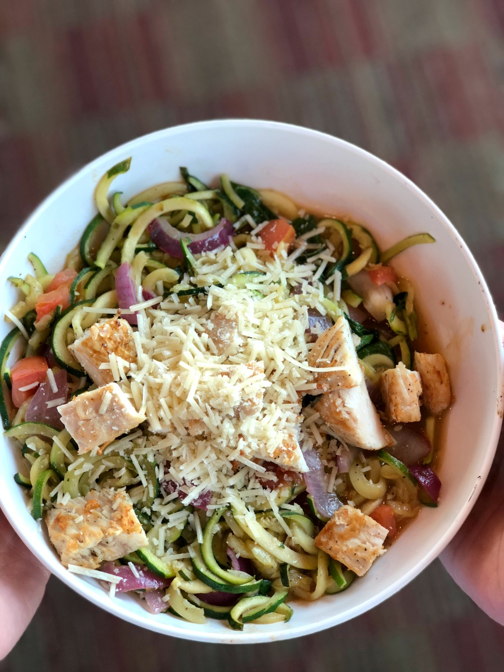 image about Noodles and Company Printable Menu identified as Zoodles at Noodles Organization - Superior For By yourself Gluten Absolutely free