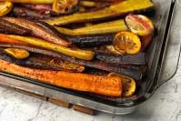 Harissa Roasted Carrots header
