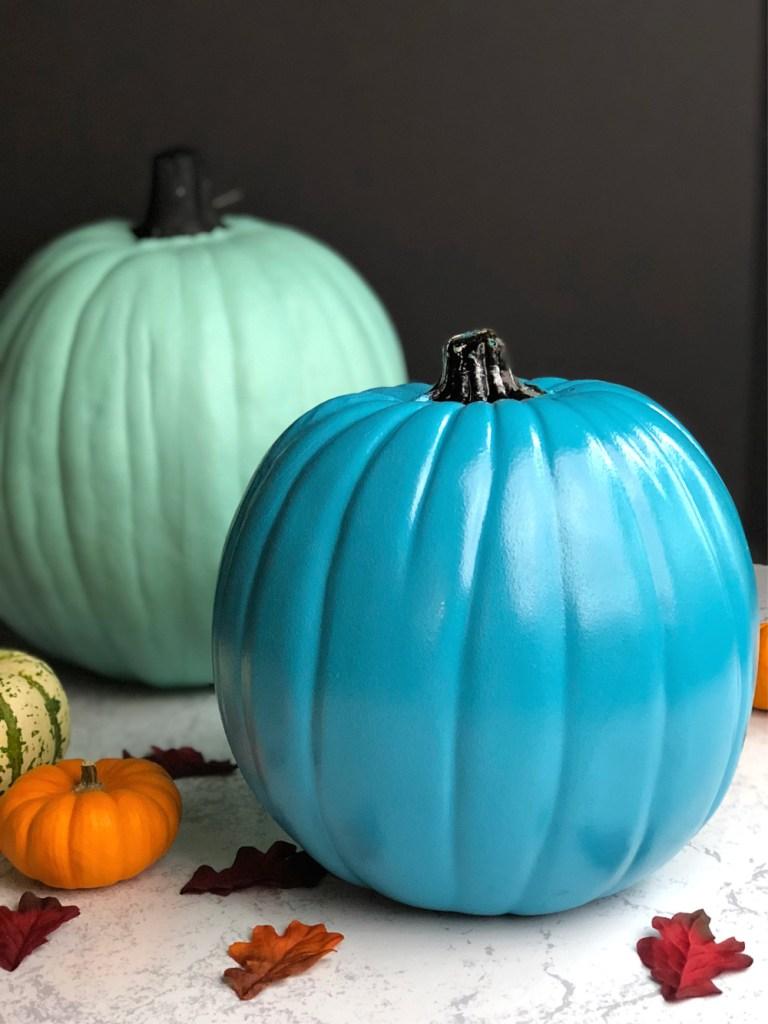 Teal pumpkin project - pumpkins