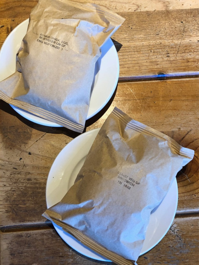Caribou Coffee Gluten-Free Sandwich - wrapped