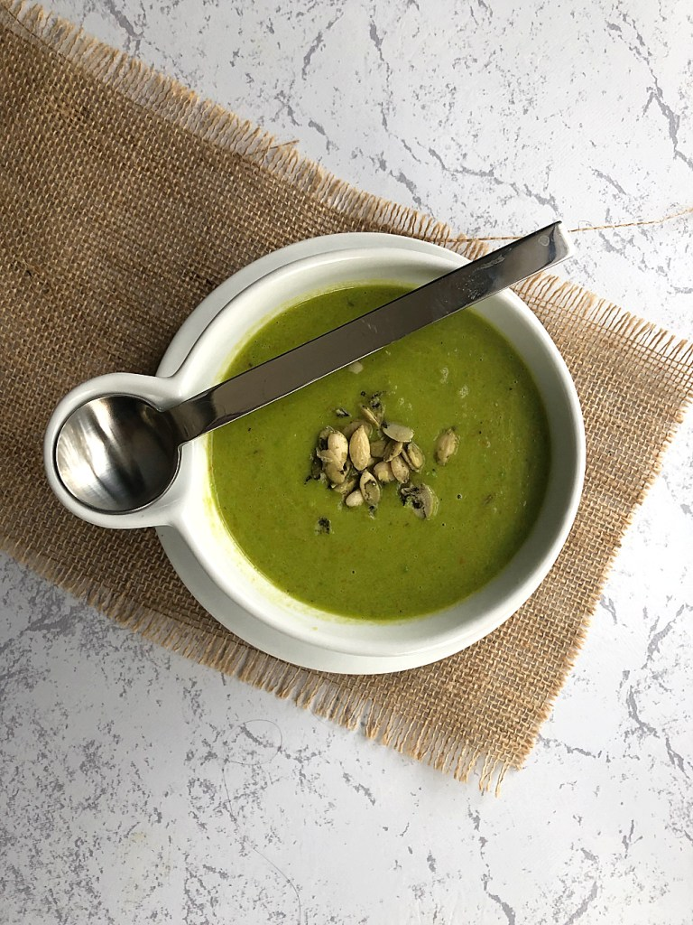 Frozen Pea Soup Recipe 1