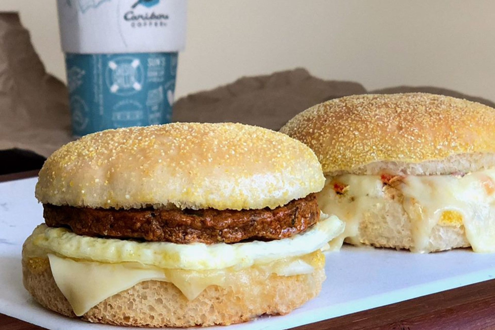 Gluten-Free Breakfast Sandwiches at Caribou Coffee - header